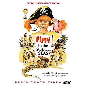 Pippi i Sydhavet [DVD] USA importerer