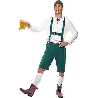 Costume di Oktoberfest costume costume lederhosen Festival della birra da birra
