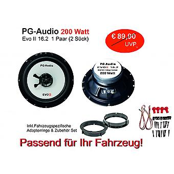 Seat Arosa, VW Lupo, VW new beetle, Škoda Octavia speaker front; PG audio new products