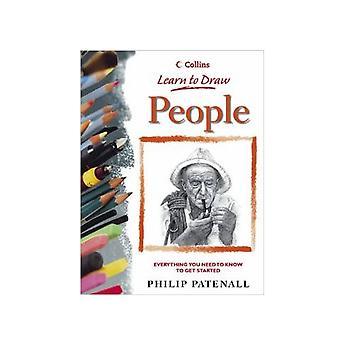 Collins bog: Lær at tegne mennesker af Philip Patenall
