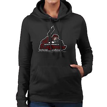 Sub Zero Hockey Academy Running Man Women's Hooded Sweatshirt