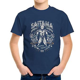 Saitama helt For moro en Punch mann Kids t-skjorte