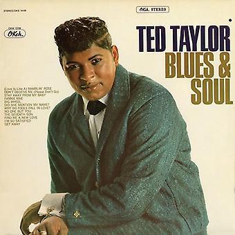 Ted Taylor - Blues & själ [CD] USA import