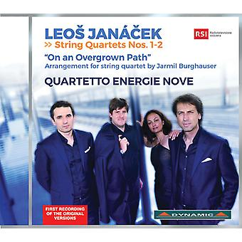 Leos Janacek / Quartetto Energie Nove - Janacek: String Quartets 1-2 [CD] USA import