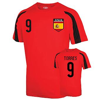 Spagna Sport Training Jersey (torres 9) - bambini