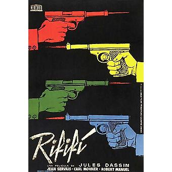 Cartel de la película Rififi (11 x 17)