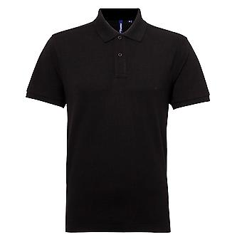 Asquith & Fox Mens Short Sleeve Performance Blend Polo Shirt