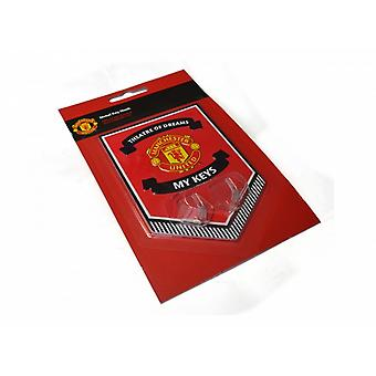 Manchester United FC Official Football Metal Key Hanging Sign