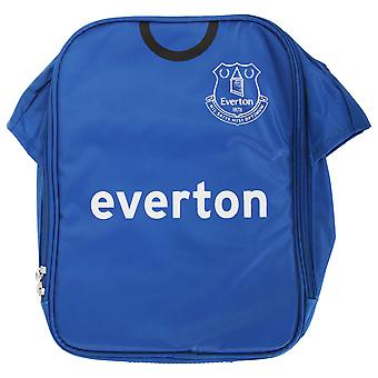 Everton FC Childrens Boys Official Insulated Football Shirt Lunch Bag/Cooler