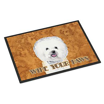 Carolines Treasures  SC9135JMAT Bichon Frise Indoor or Outdoor Mat 24x36 Doormat