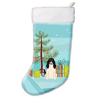 Merry Christmas Tree Swiss Hound Christmas Stocking