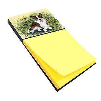 Corgi Refiillable Sticky Note Holder or Postit Note Dispenser