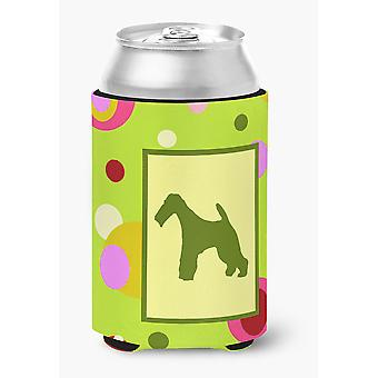 Carolines Treasures  CK1067CC Fox Terrier Can or Bottle Beverage Insulator Hugge