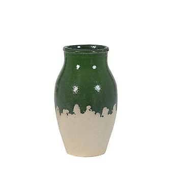 Light & Living Vase Deco Ø18x30 Cm KEPUR Dark Green
