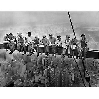 Lunch on a Skyscraper 24x36 Poster Poster Print