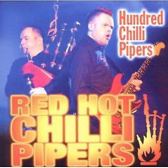Red Hot Chili Pipers - hundrede chili Pipers [CD] USA importerer