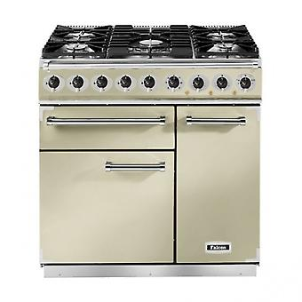 FALCON 77050 (F900DXDFCR/CM) 90cm Deluxe Dual Fuel Range Cooker