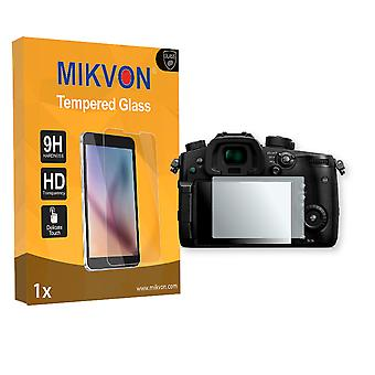 Panasonic Lumix DC-GH5 Screen Protector - Mikvon flexible Tempered Glass 9H (Retail Package with accessories)