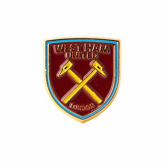 West Ham United FC Official Football Crest Pin Badge