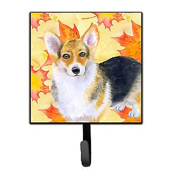 Carolines Treasures  BB9903SH4 Pembroke Corgi Fall Leash or Key Holder