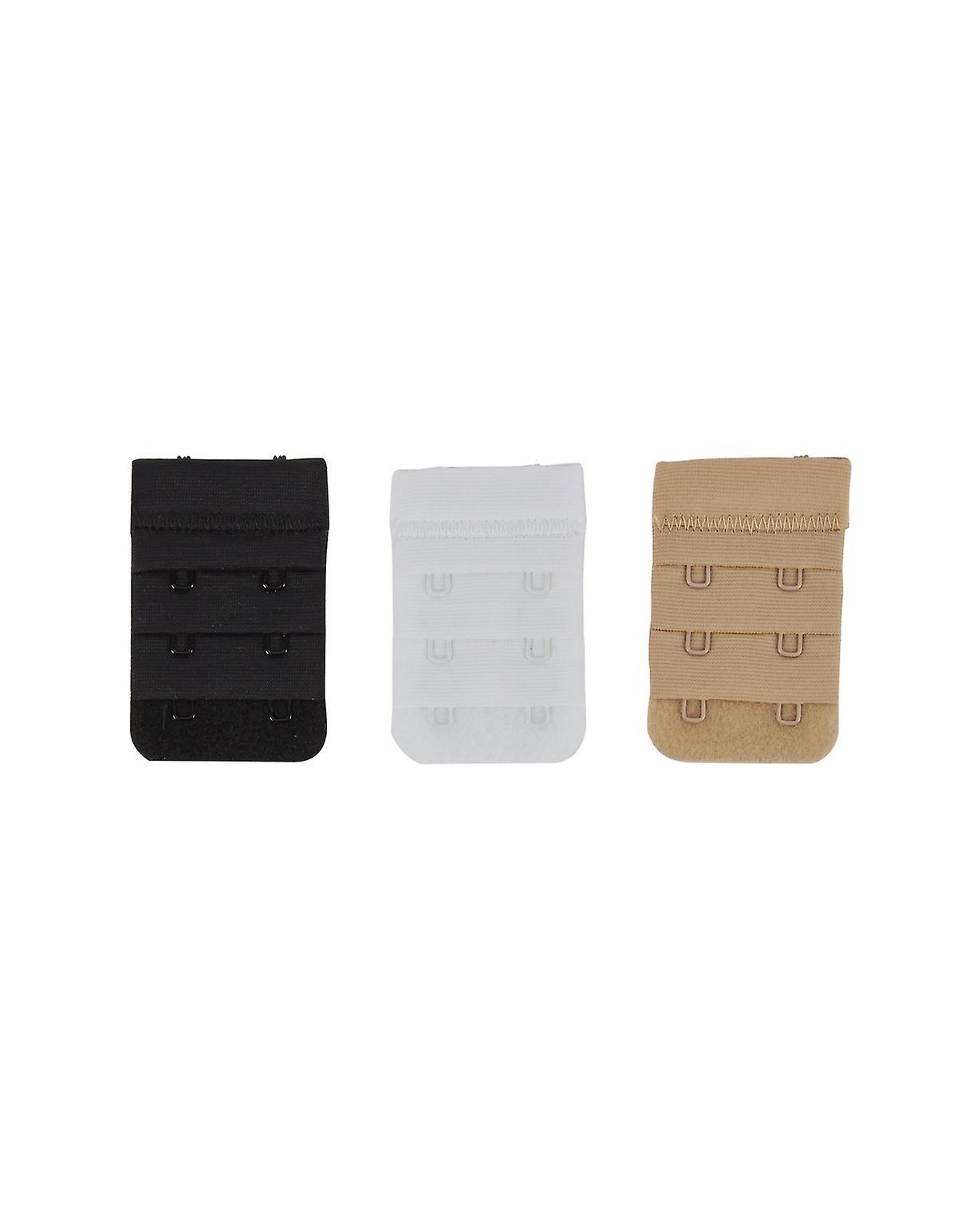 Secret Weapons SW-029-2-3P Women's Bra Strap Extenders Assorted 3 Pack