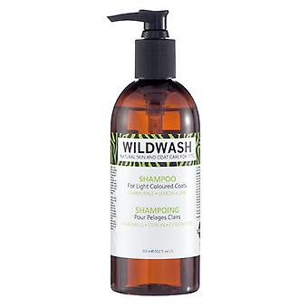 Wildwash Shampoo For Light Coloured Coats 300ml