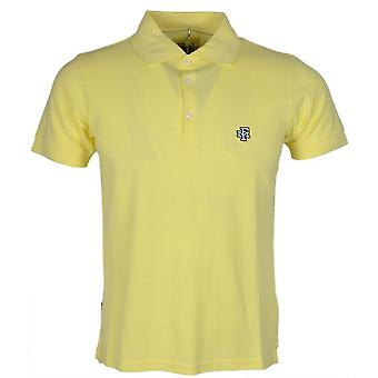 Franklin & Marshall Mf474 Piquet Cotton Sun Yellow Polo