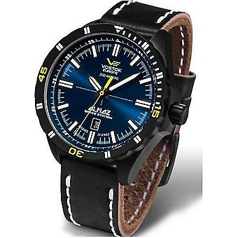 Vostok-Europe watches mens watch ALMAZ space station automatic NH35-320 C-257