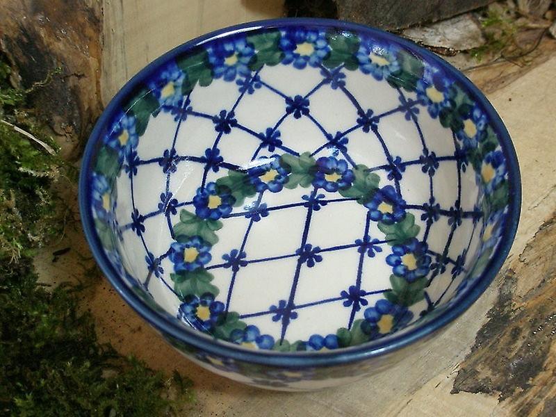 Salatschüssel, Ø 15 cm, Höhe 7 cm, Unikat 53, Bunzlauer Keramik - BSN 6723