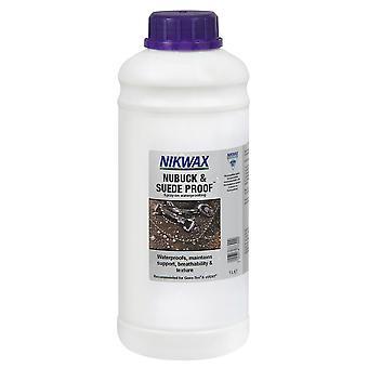 Nikwax Nubuck & ruskind bevis - 1L