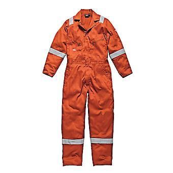 Dickies męskie Odzież robocza bawełny pomarańczowy kombinezon WD2279O