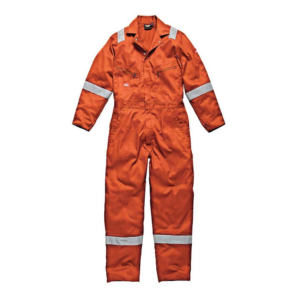 DICKIES Pour des hommes vêtehommests de travail coton combinaison Orange WD2279O