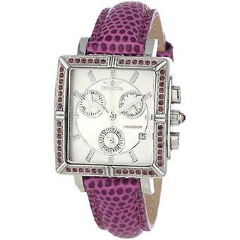 Invicta  Wildflower 10335  Leather Chronograph  Watch