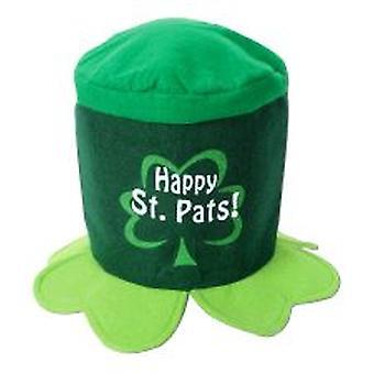 Feliz cumpleaños sombrero de fieltro de día de San Patricio