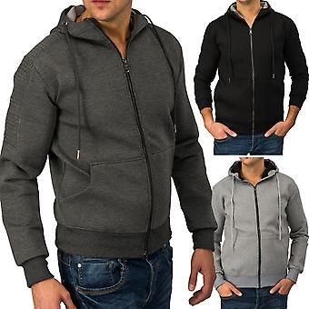 Men's Hooded Jacket CLASSICFIT Sweat Jacket Sports Jacket Sweatshirt (3 colors)