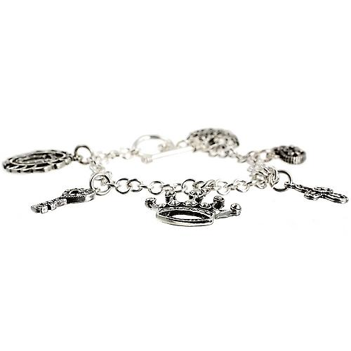 Silver Charm Bracelet Mexican