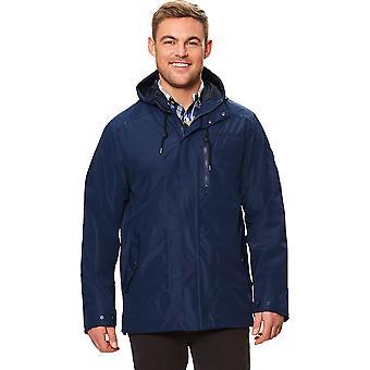 Regatta Herre Boman åndbar hætteklædte Isotex vandtæt pels jakke