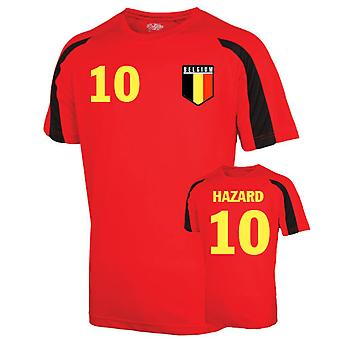 Belgium Sports Training Jersey (hazard 10) - Kids