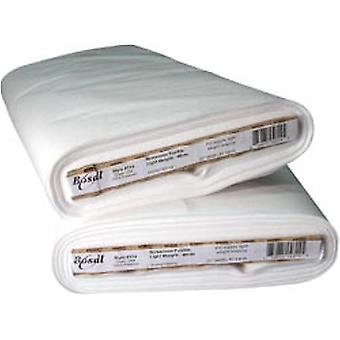 Fusible Non-Woven Lightweight Interfacing-White 20
