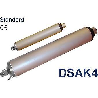 Sistema di azionamento Europa DSAK4-12-50-300-IP54 lineare attuatore 12 Vdc corsa 300 mm 100 N