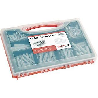 Fischer 40991 Box of wall plugs SX/UX red Content 1 Set 2f. Delivery includes 60 pcs. wall plugs Sx 6x30 · 50 pcs. wall