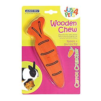 Ancol Wooden Carrot Cruncher Gnaw