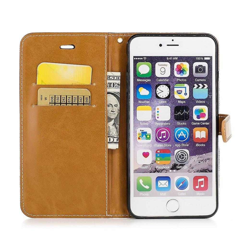 Case for Apple iPhone 6 / 6s jeans cover phone protective cover case black