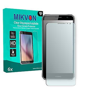 Huawei Nova Plus Screen Protector - Mikvon Clear (Retail Package with accessories) (intentionally smaller than the display due to its curved surface)