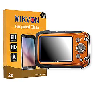 Fujifilm FinePix XP100 Screen Protector - Mikvon flexible Tempered Glass 9H (Retail Package with accessories)