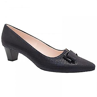 Peter Kaiser Low Heel Court Shoe With Bow