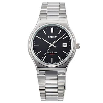 Orient fashionable men's watch with stainless steel bracelet silver