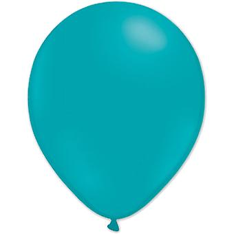 Les ballons Turquoise 10pcs