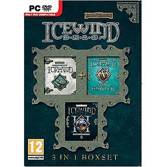 Compilación de Icewind Dale 3 en 1 PC DVD