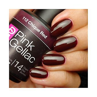 Esmalte Permanente Pink Gellac 112 Chic Red